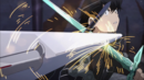 Kirito blocking Heathcliff's attack.png