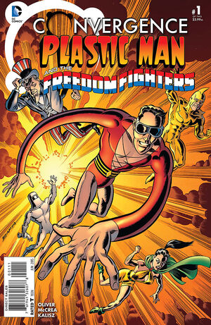 Cover for Convergence: Plastic Man and the Freedom Fighters #1 (2015)