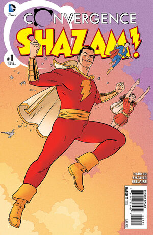 Cover for Convergence: Shazam! #1 (2015)