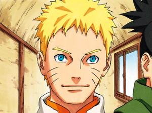 Naruto en tant que Septième Hokage