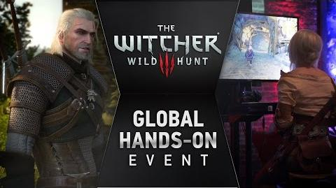 The Witcher 3 Wild Hunt - PS4 XB1 PC - Worldwide hands-on event (Spanish)