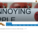 Annoying Apple