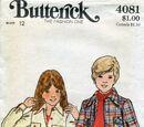 Butterick 4081 A