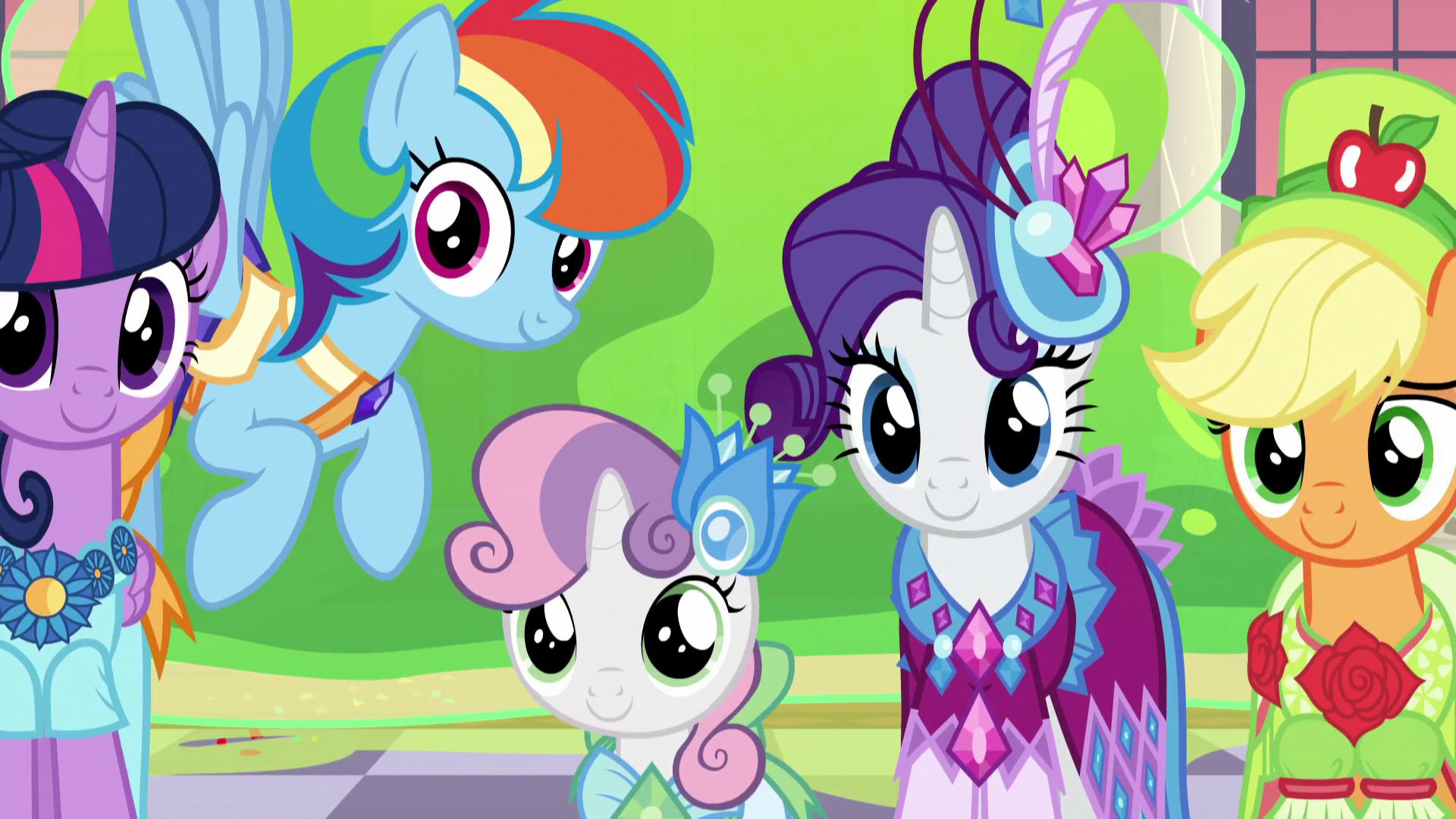 My Little Pony Princess Rarity Coloring Books l Coloring