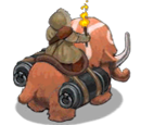 Allied Mammoth Rider