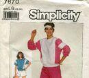 Simplicity 7670 A