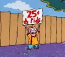 25 centavos el paseo