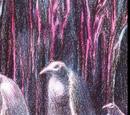 Pingüinos del centro de la Tierra