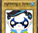 Nightwing clasico funko (carta yu gi oh)