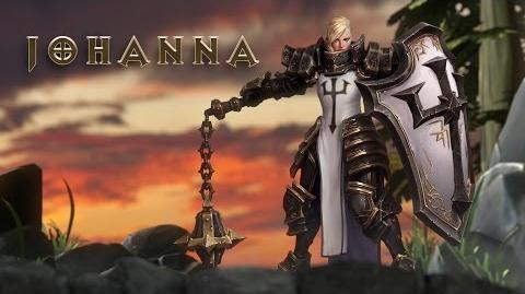 Découvrez Johanna dans Heroes of the Storm
