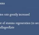 Rush of Stamina