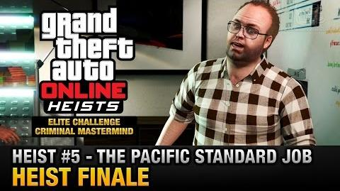 GTA Online Heist 5 - The Pacific Standard Job - Finale (Elite Challenge & Criminal Mastermind)