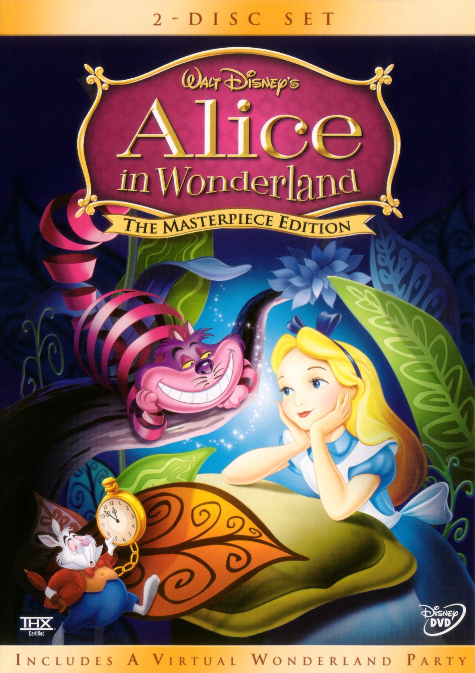 alice in wonderland video disney wiki