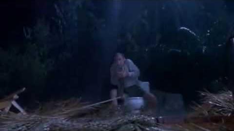 T Rex Eats Lawyer on Toilet- Jurassic Park