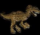 Dilofozaur - skórka Alpha