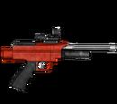 Pistolet usypiający - skórka Red Devil