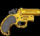 Pistolet sygnałowy - skórka Golden