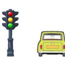 Vanrussel.tadena/Traffic Light Mr Bean Car / Traffic Light Mr Bean Cars