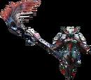 Rage Armor (Blademaster) (MHX)