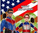 Checker Fred/Happy 4th of July from Henry Danger