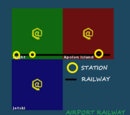 Airport Microcontinent Railway