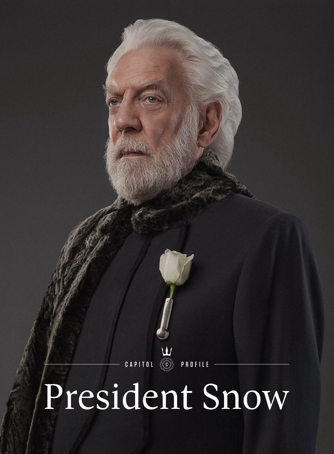 President Coriolanus Snow - Villains Wiki - villains, bad ...
