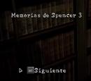 Memorias de Spencer 3