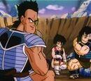 Guerreros Z (saga saiyajin) vs Escuadrón de Bardock