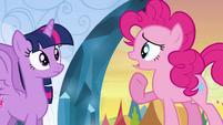 """Pinkie Pie """"you also wanna curl up"""" EG"""