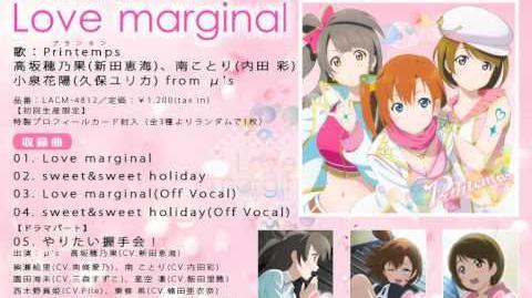 Love marginal
