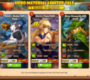 Hero Material Limited Sale