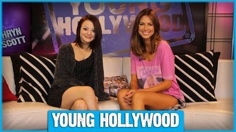 FINDING CARTER's Kathryn Prescott on the Show's Intriguing Premise!