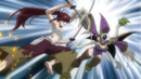 Erza and Kyôka clash.png