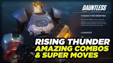 Rising Thunder - Combos and Super Move Gameplay Montage