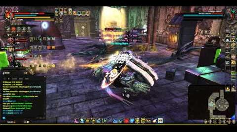 Indigo Flame Capture in Black Tower