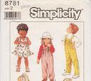 Simplicity 8781 B