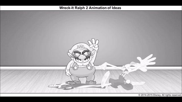 Wreck-It Ralph 2 Animation of Ideas 4