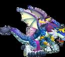 Dragón Extraterrestre Azul