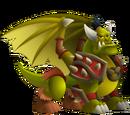 Dragón Orco