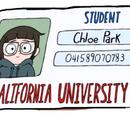Cartão de estudante de Chloe