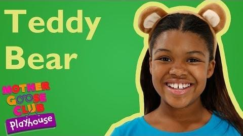 Teddy Bear, Teddy Bear Mother Goose Club Playhouse Nursery Rhymes