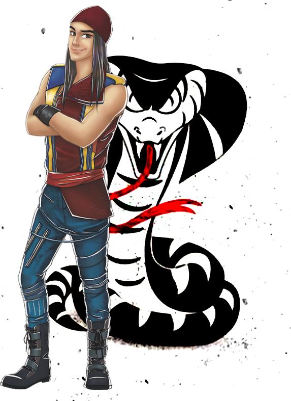 Painel Para Tv No Ático By Jack Móbiles: Descendants 2D Characters