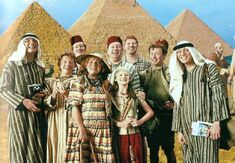 The Weasley Family at Egypt