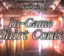 In-Game T-Shirt Contest
