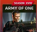 Army of One (Season XVIII)