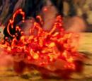 Liberação de Lava: Viscosidade Fluída