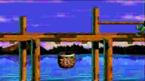 Donkey Kong Country 3 (SNES) - Tener a Parry en cualquier nivel (Glitch)