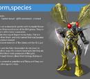 Algorm, Species