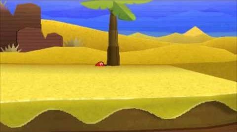 Paper Mario Sticker Star - Deathly Sand Glitch