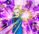 Beautiful but Deadly Android 18